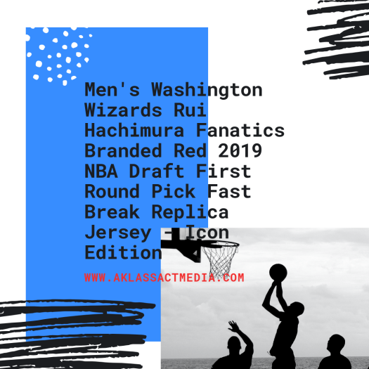Men's Washington Wizards Rui Hachimura Fanatics Branded Red 2019 NBA Draft First Round Pick Fast Break Replica Jersey - Icon Edition